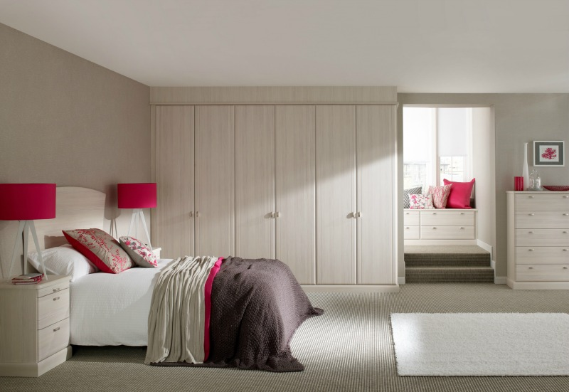 Milan Avola White-Fitted Bedroom Furniture