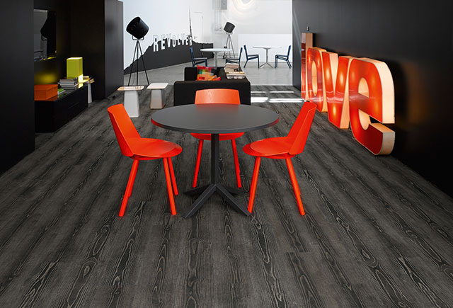 Poly Floor Blackpool-Harper and Pye-Graphite-Pine